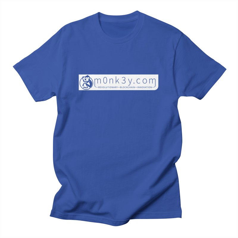 m0nk3y.com Women's Regular Unisex T-Shirt by The m0nk3y Merchandise Store