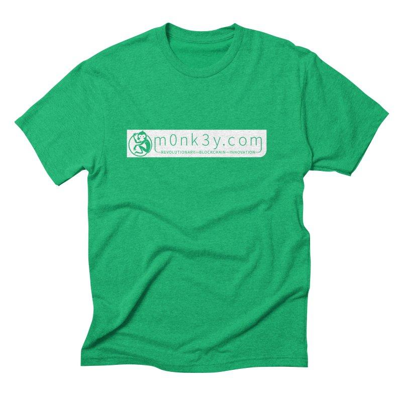 m0nk3y.com Men's Triblend T-Shirt by The m0nk3y Merchandise Store