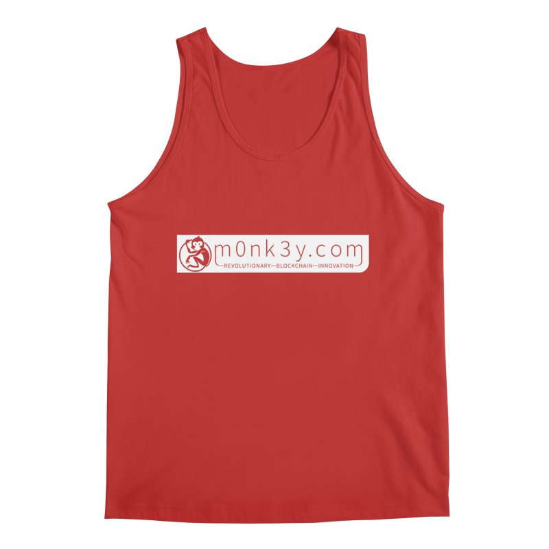 m0nk3y.com Men's Regular Tank by The m0nk3y Merchandise Store