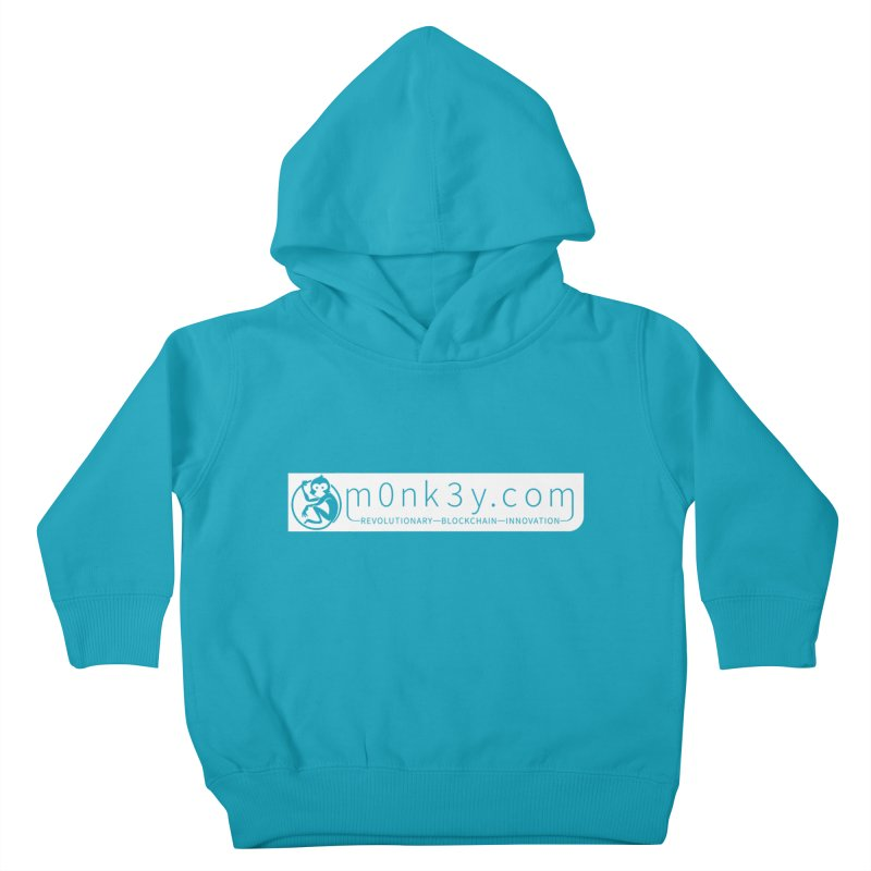 m0nk3y.com Kids Toddler Pullover Hoody by The m0nk3y Merchandise Store