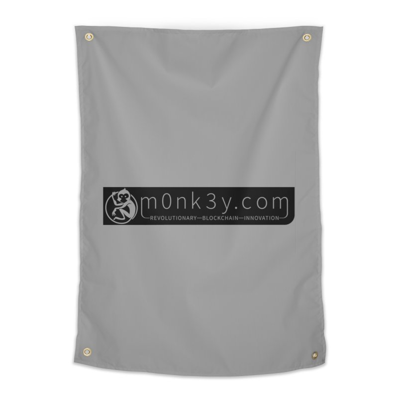 m0nk3y.com Home Tapestry by The m0nk3y Merchandise Store