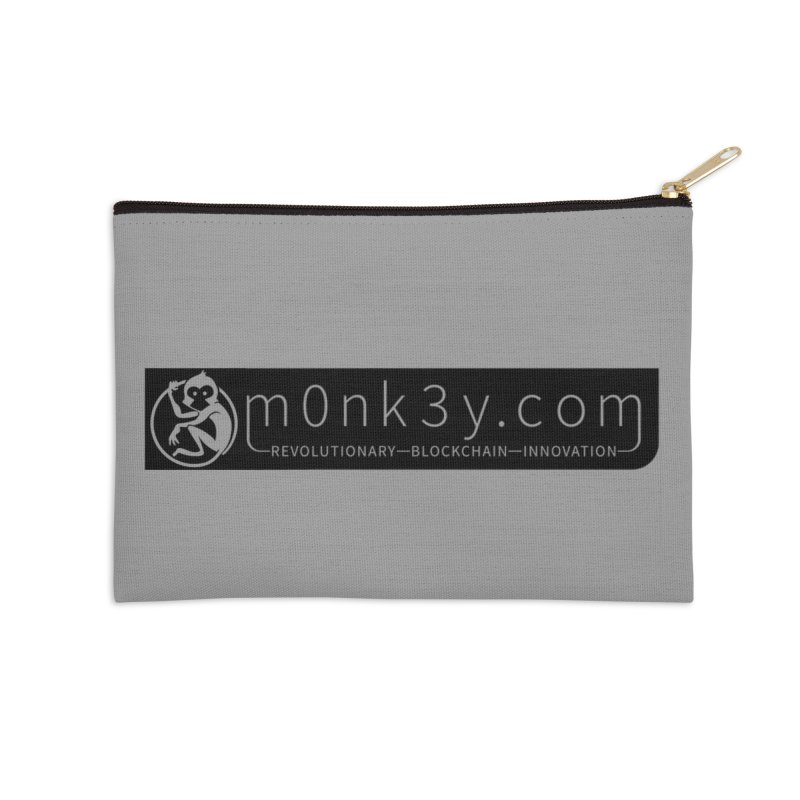 m0nk3y.com Accessories Zip Pouch by The m0nk3y Merchandise Store