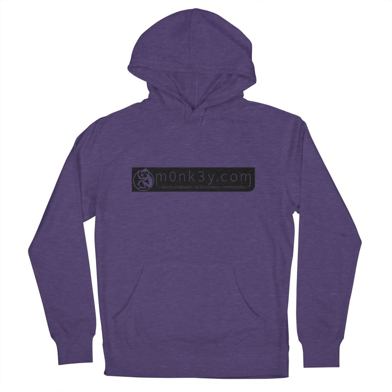 m0nk3y.com Women's French Terry Pullover Hoody by The m0nk3y Merchandise Store