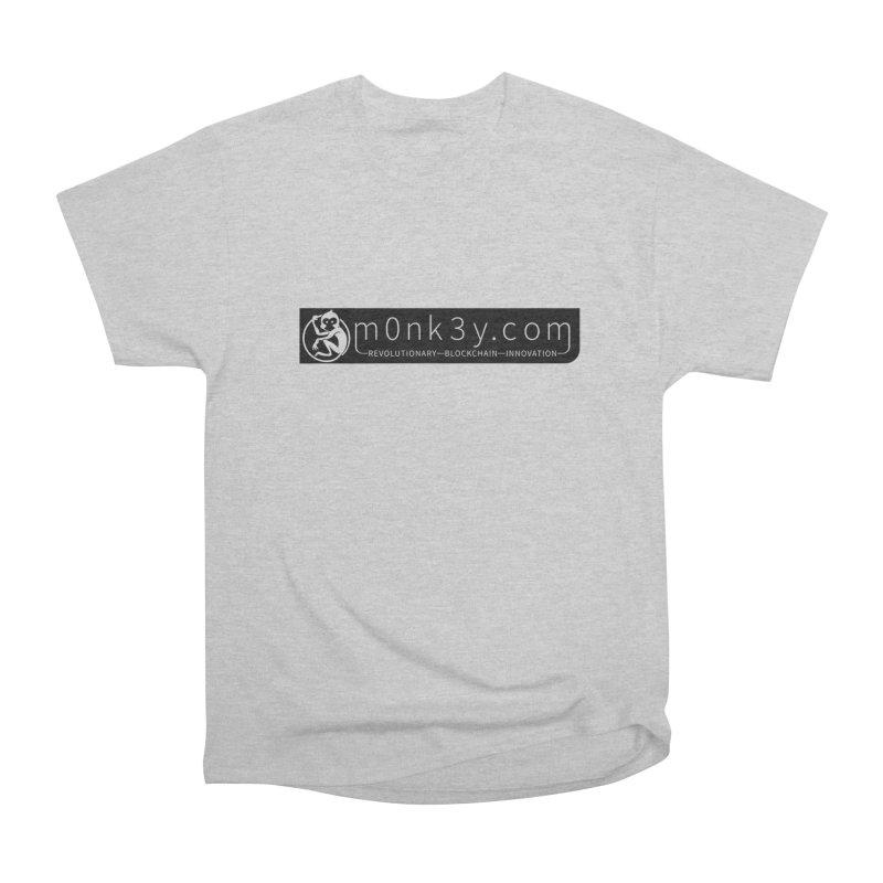 m0nk3y.com Women's Heavyweight Unisex T-Shirt by The m0nk3y Merchandise Store