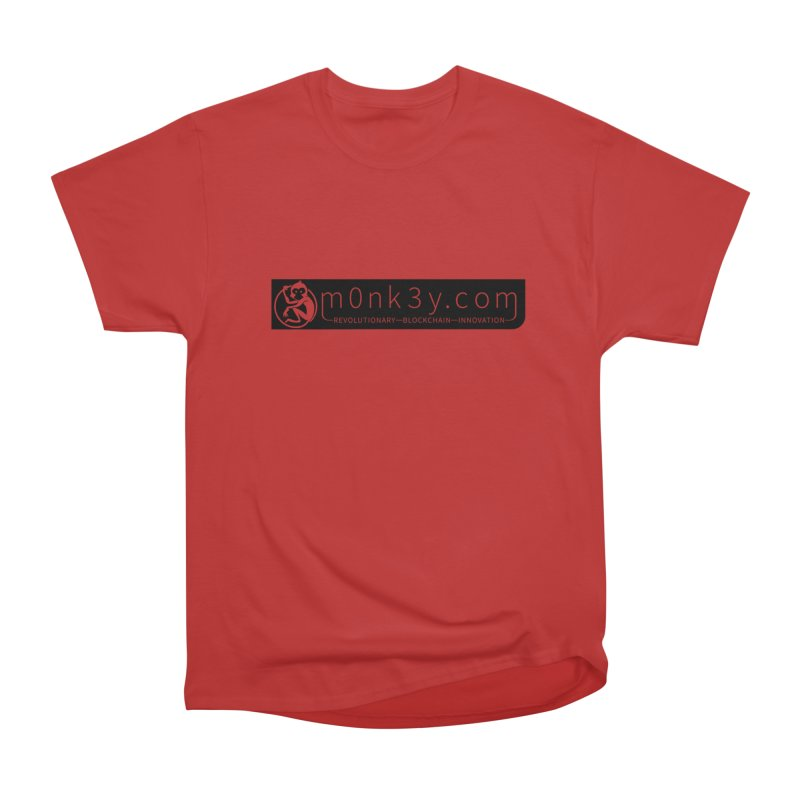 m0nk3y.com Men's Heavyweight T-Shirt by The m0nk3y Merchandise Store