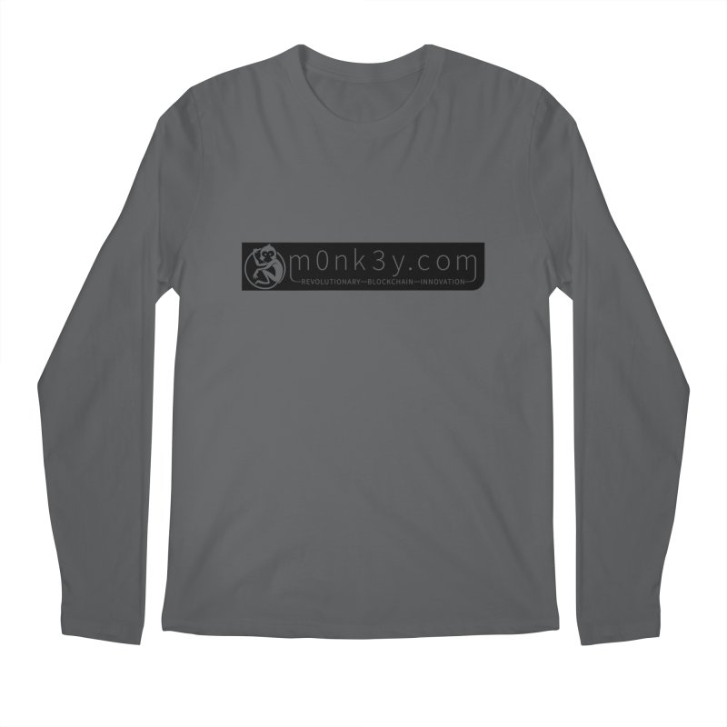 m0nk3y.com Men's Longsleeve T-Shirt by The m0nk3y Merchandise Store