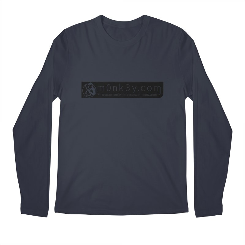 m0nk3y.com Men's Regular Longsleeve T-Shirt by The m0nk3y Merchandise Store