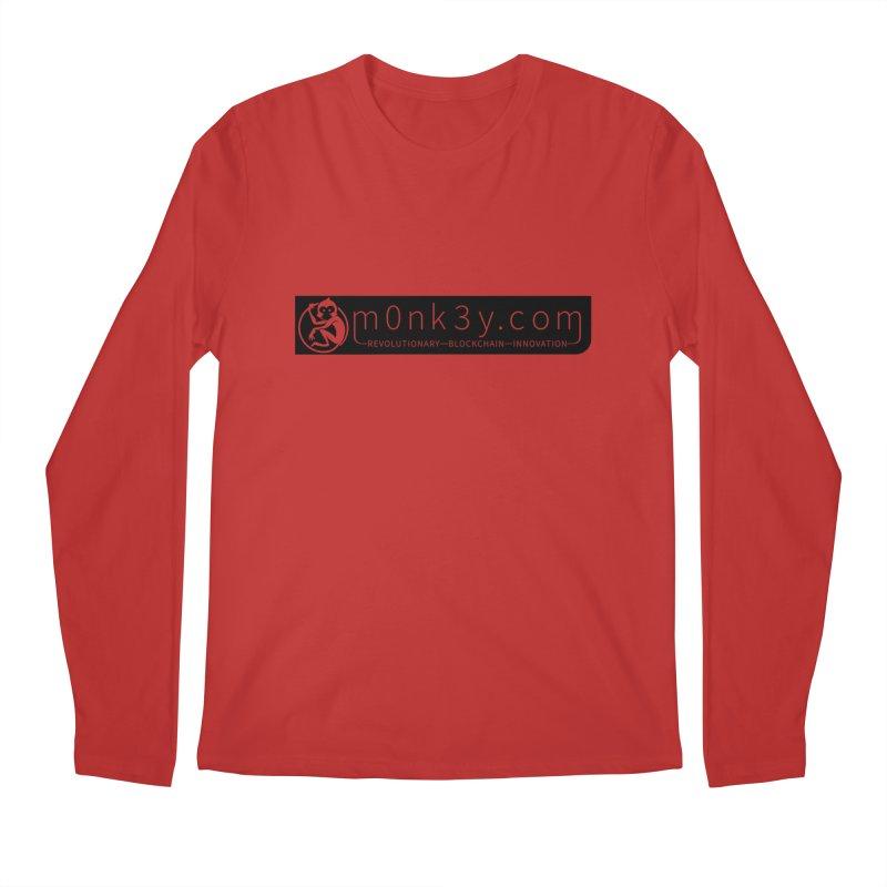 m0nk3y.com Men's Regular Longsleeve T-Shirt by The m0nk3y Merchandise Store