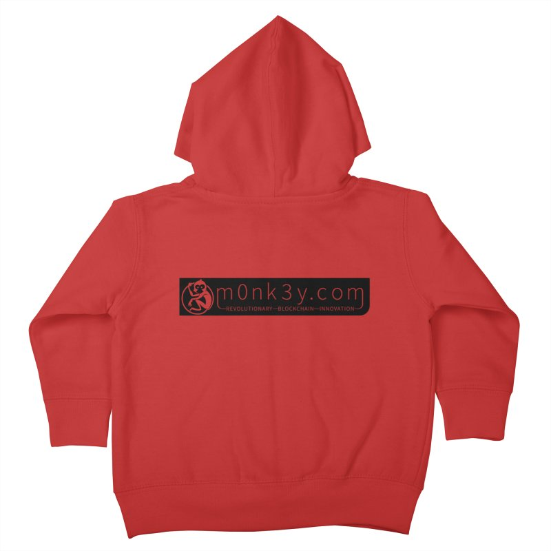 m0nk3y.com Kids Toddler Zip-Up Hoody by The m0nk3y Merchandise Store