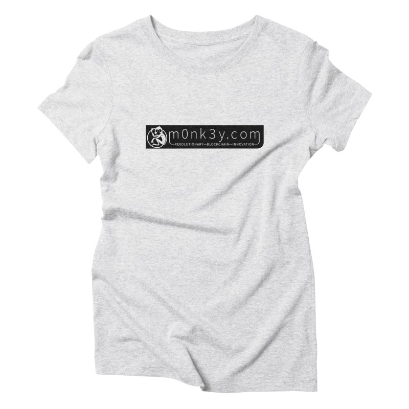 m0nk3y.com Women's Triblend T-Shirt by The m0nk3y Merchandise Store