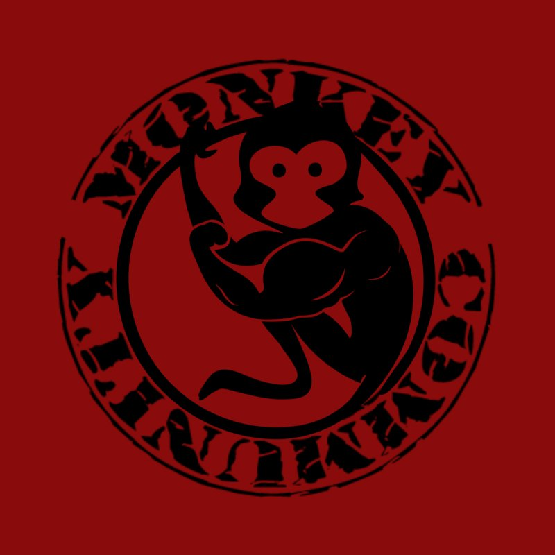 Monkey Community Women's V-Neck by The m0nk3y Merchandise Store