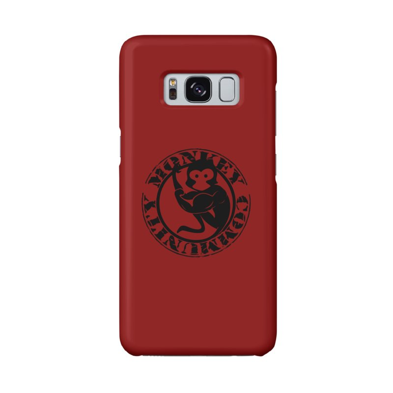 Monkey Community Accessories Phone Case by The m0nk3y Merchandise Store