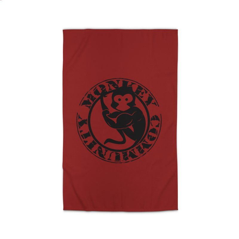 Monkey Community Home Rug by The m0nk3y Merchandise Store