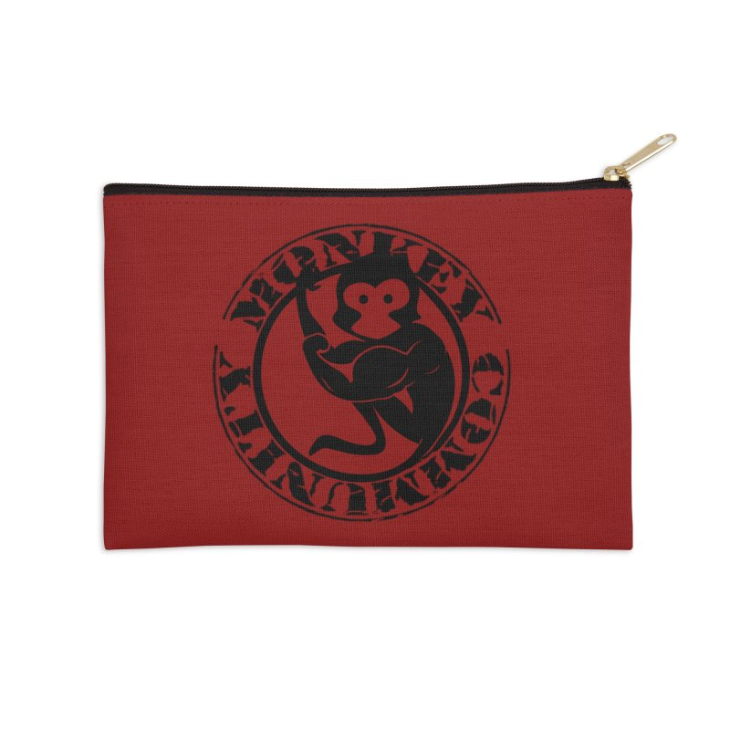 Monkey Community Accessories Zip Pouch by The m0nk3y Merchandise Store