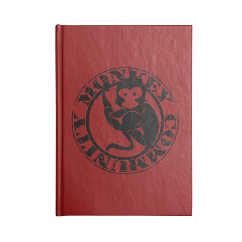 Monkey Community Accessories Notebook by The m0nk3y Merchandise Store