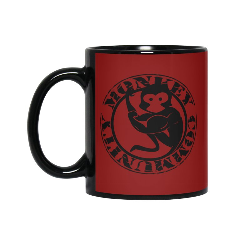 Monkey Community Accessories Mug by The m0nk3y Merchandise Store