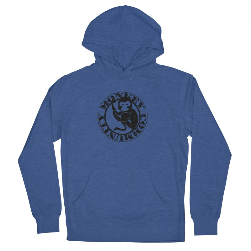 Monkey Community Men's French Terry Pullover Hoody by The m0nk3y Merchandise Store