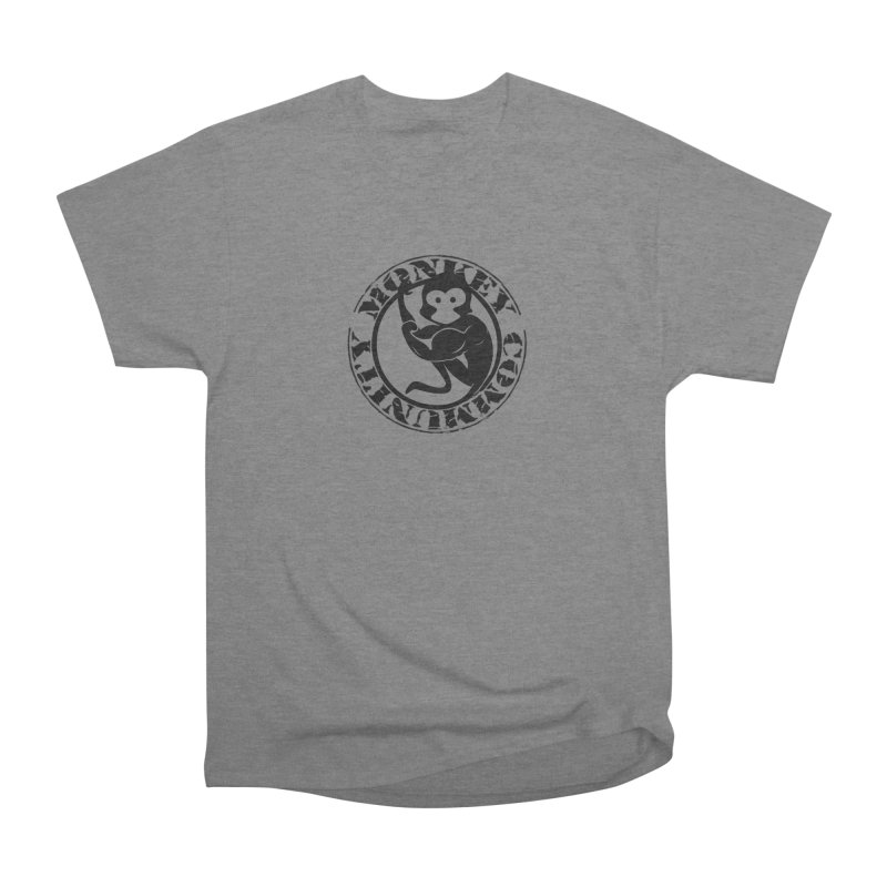 Monkey Community Women's Heavyweight Unisex T-Shirt by The m0nk3y Merchandise Store