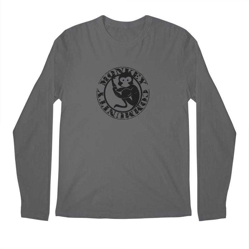 Monkey Community Men's Longsleeve T-Shirt by The m0nk3y Merchandise Store