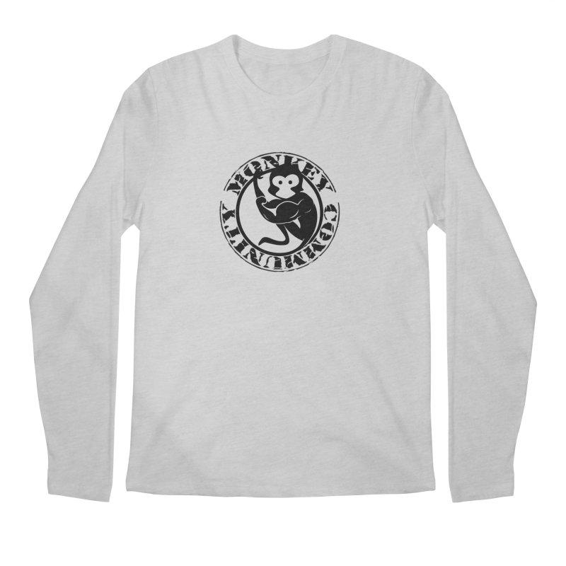 Monkey Community Men's Regular Longsleeve T-Shirt by The m0nk3y Merchandise Store