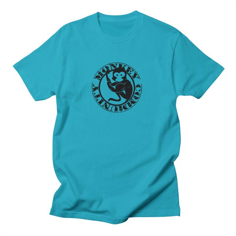 Monkey Community Men's Regular T-Shirt by The m0nk3y Merchandise Store