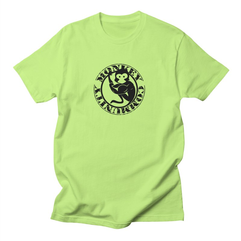 Monkey Community Women's Regular Unisex T-Shirt by The m0nk3y Merchandise Store
