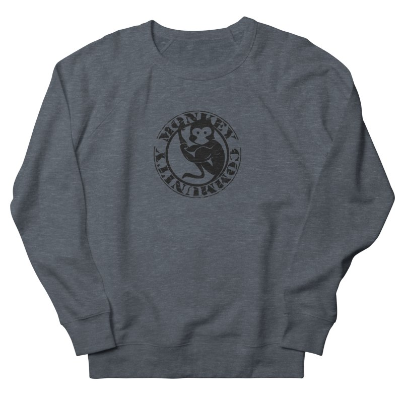 Monkey Community Women's French Terry Sweatshirt by The m0nk3y Merchandise Store