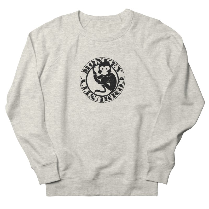 Monkey Community Men's French Terry Sweatshirt by The m0nk3y Merchandise Store