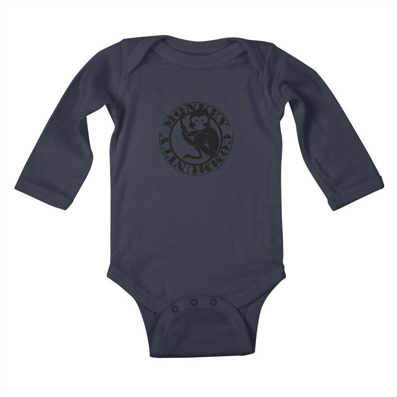 Monkey Community Kids Baby Longsleeve Bodysuit by The m0nk3y Merchandise Store