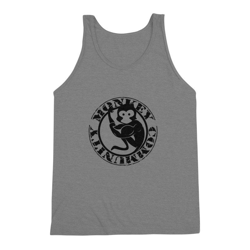 Monkey Community Men's Tank by The m0nk3y Merchandise Store