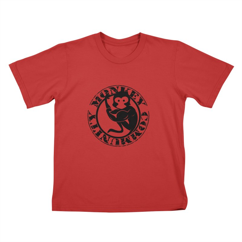 Monkey Community Kids T-Shirt by The m0nk3y Merchandise Store
