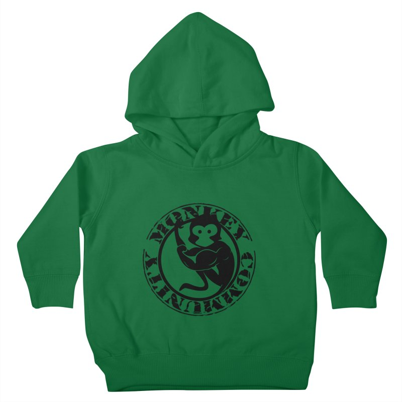 Monkey Community Kids Toddler Pullover Hoody by The m0nk3y Merchandise Store