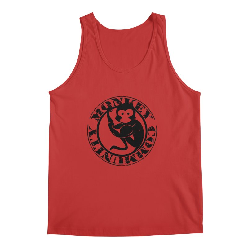 Monkey Community Men's Regular Tank by The m0nk3y Merchandise Store