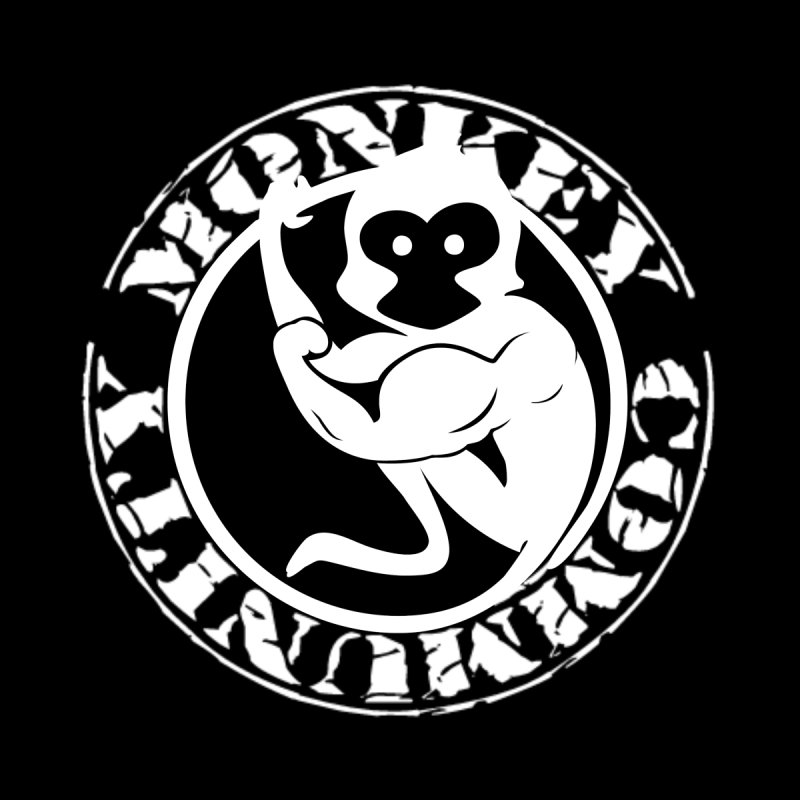 Monkey Community Men's V-Neck by The m0nk3y Merchandise Store