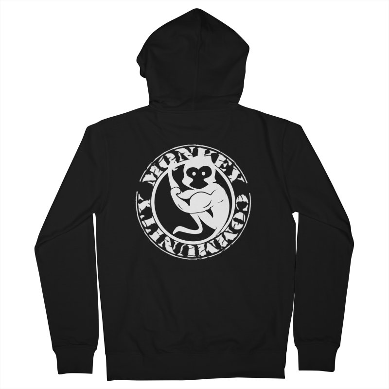 Monkey Community Women's French Terry Zip-Up Hoody by The m0nk3y Merchandise Store
