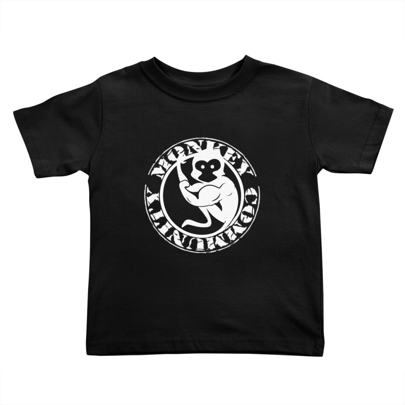 Monkey Community Kids Toddler T-Shirt by The m0nk3y Merchandise Store