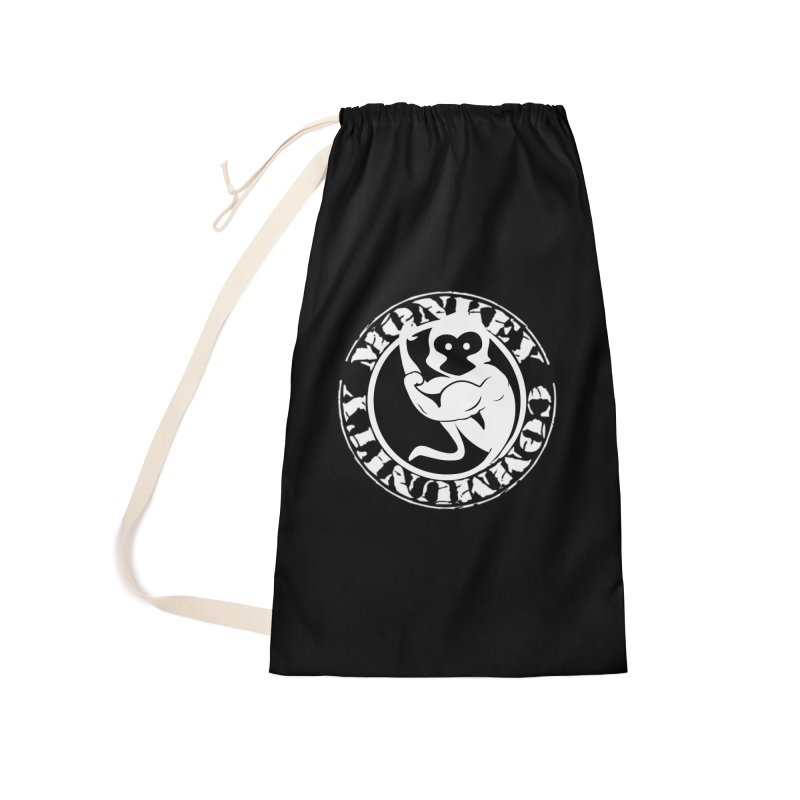 Monkey Community Accessories Laundry Bag Bag by The m0nk3y Merchandise Store