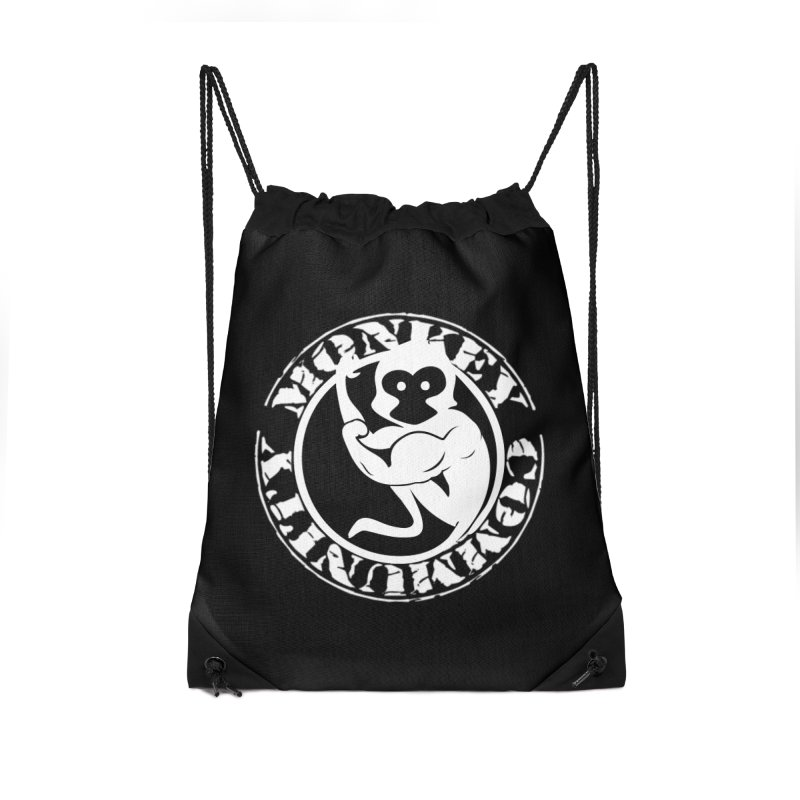 Monkey Community Accessories Drawstring Bag Bag by The m0nk3y Merchandise Store