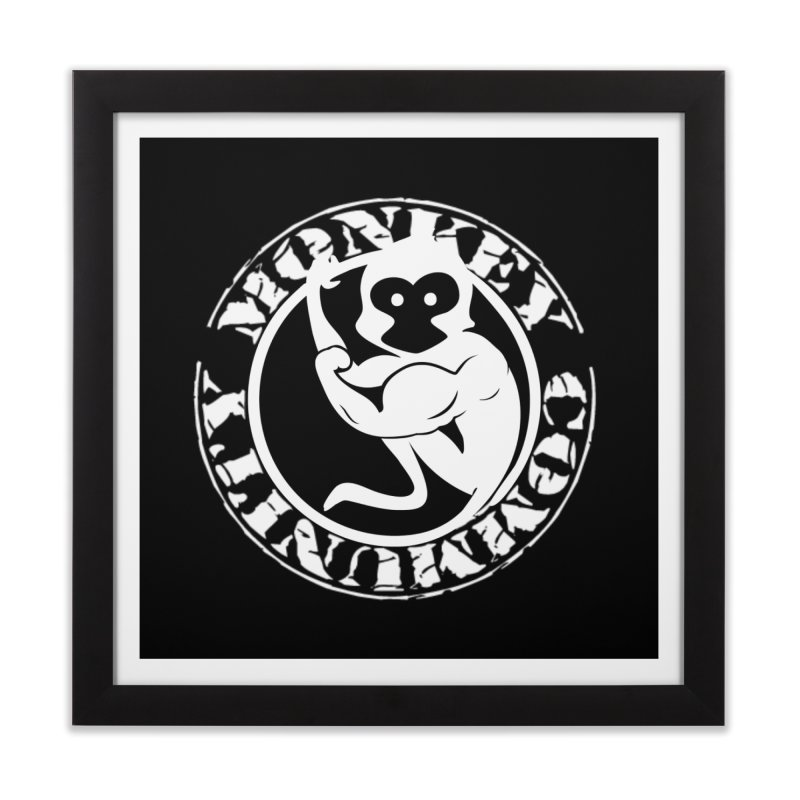 Monkey Community Home Framed Fine Art Print by The m0nk3y Merchandise Store