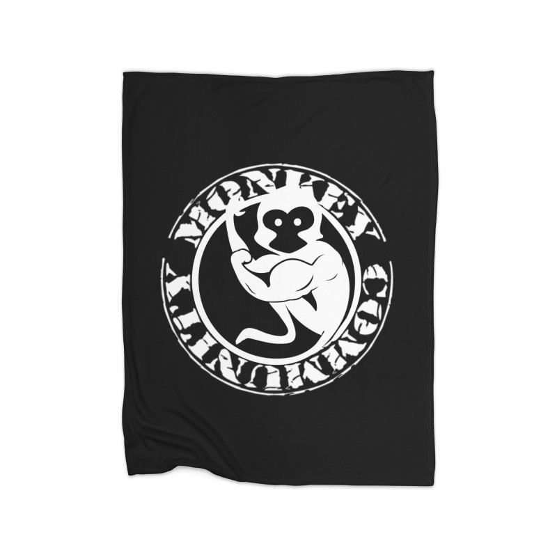 Monkey Community Home Blanket by The m0nk3y Merchandise Store