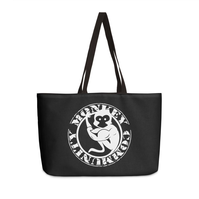 Monkey Community Accessories Weekender Bag Bag by The m0nk3y Merchandise Store