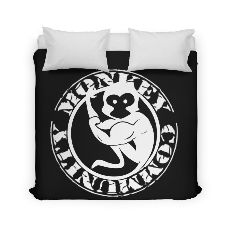 Monkey Community Home Duvet by The m0nk3y Merchandise Store