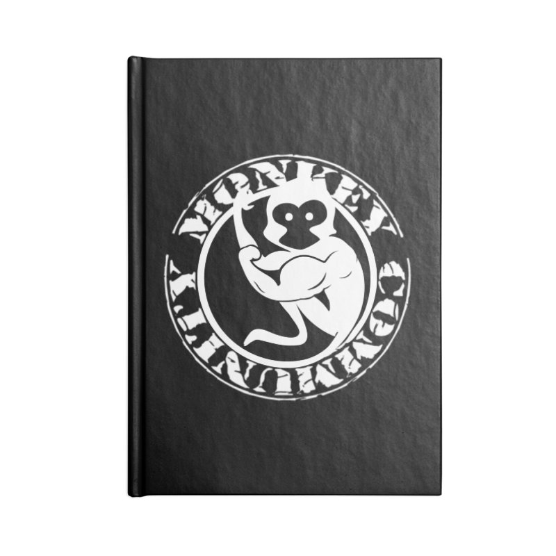 Monkey Community Accessories Lined Journal Notebook by The m0nk3y Merchandise Store