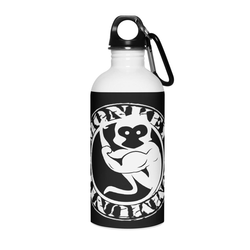 Monkey Community Accessories Water Bottle by The m0nk3y Merchandise Store