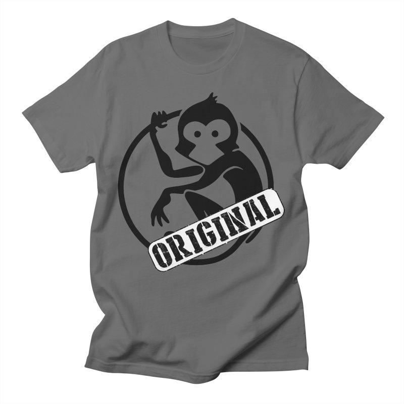 Monkey Original Large Logo Men's T-Shirt by The m0nk3y Merchandise Store
