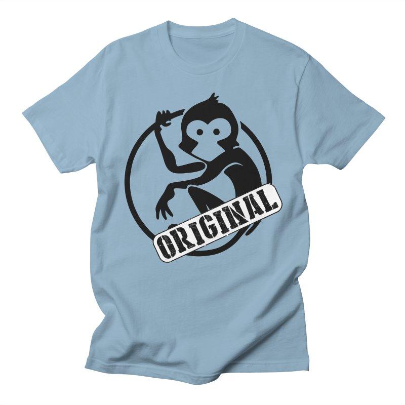 Monkey Original Large Logo Women's Regular Unisex T-Shirt by The m0nk3y Merchandise Store