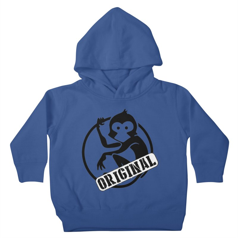 Monkey Original Large Logo Kids Toddler Pullover Hoody by The m0nk3y Merchandise Store