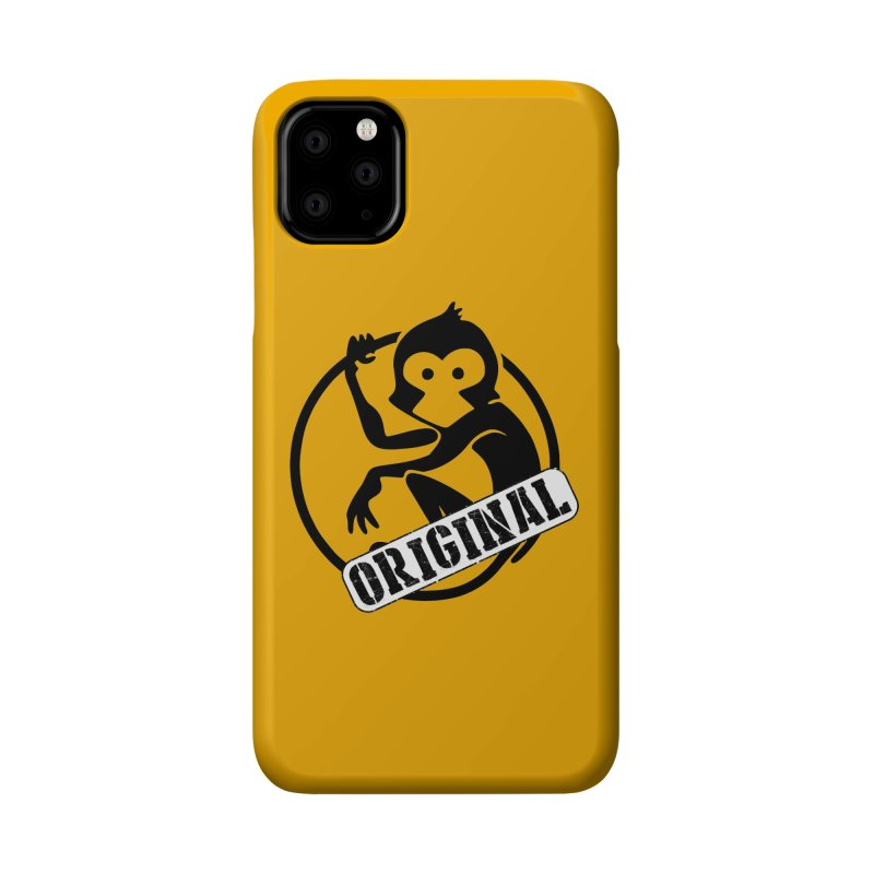 Monkey Original Large Logo Accessories Phone Case by The m0nk3y Merchandise Store