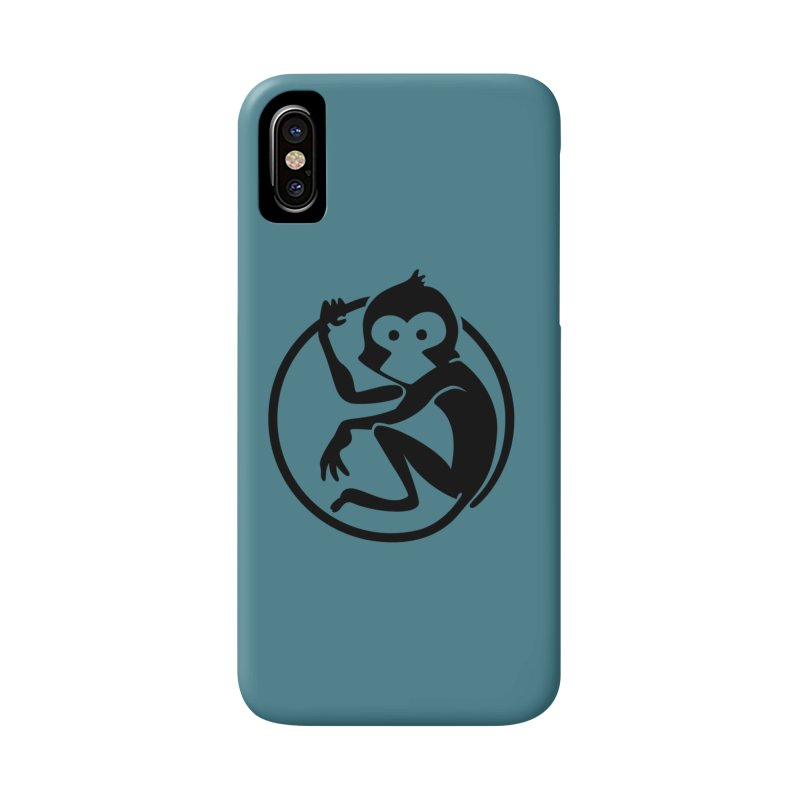 Monkey Accessories Phone Case by The m0nk3y Merchandise Store