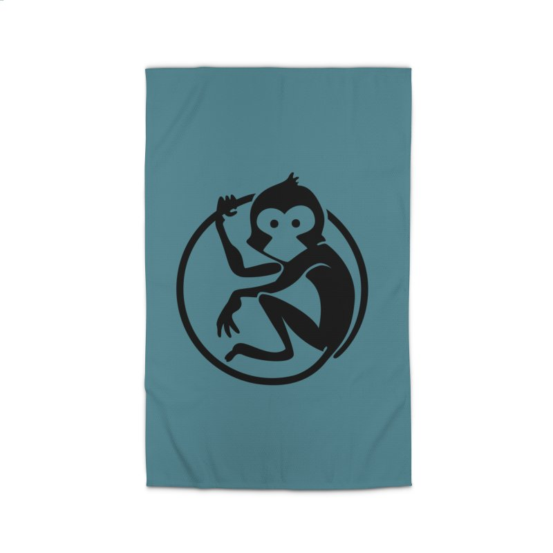 Monkey Home Rug by The m0nk3y Merchandise Store